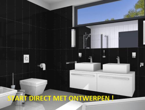 3d badkamer badkamers naarden for Badkamer maken 3d